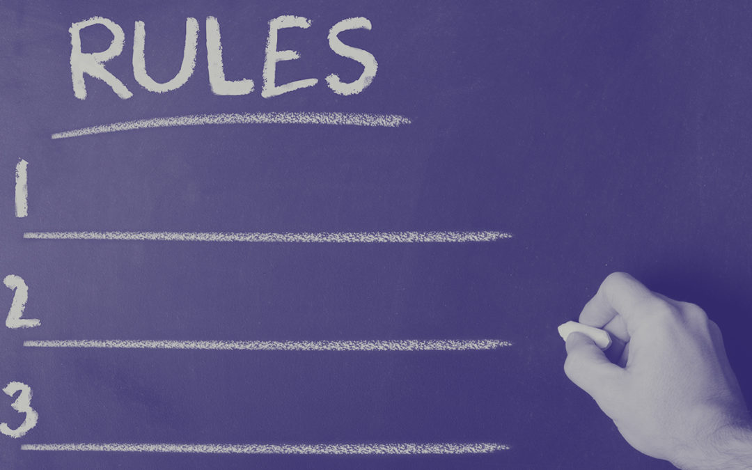 What are non-negotiable rules?
